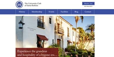 Santa Barbara Web Design - UClub