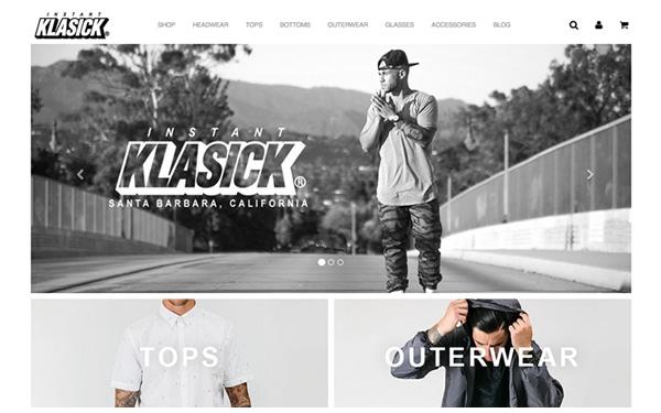 Instant Klasick Website