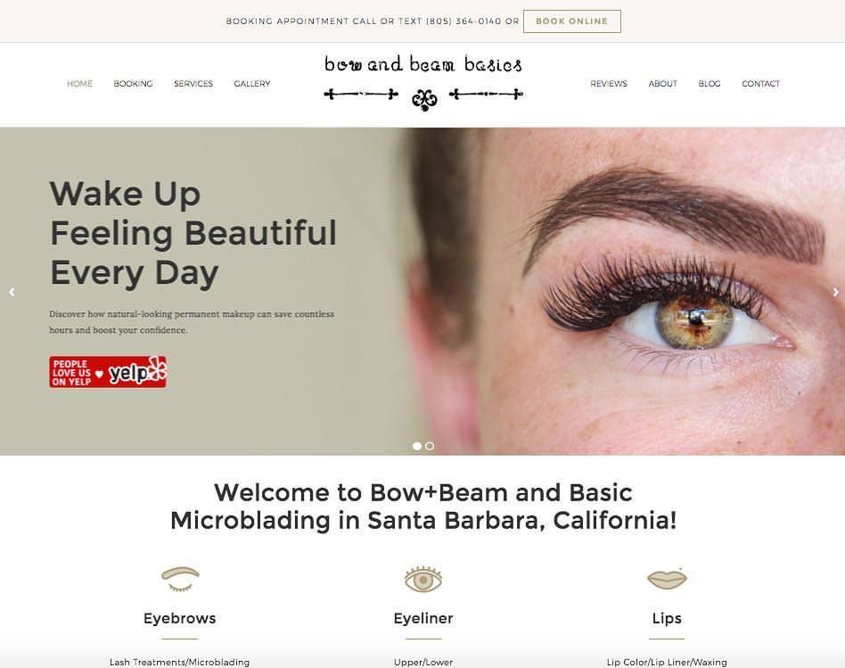 bow-and-beam basics - Santa Barbara Microblading