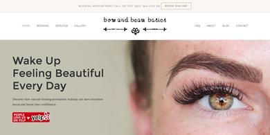 Santa Barbara Web Design - Bow and Beam Basics