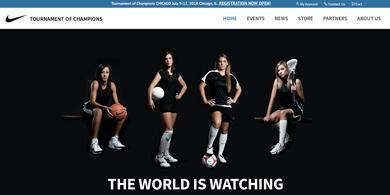 Santa Barbara Web Design and Web Development - NIKE TOC