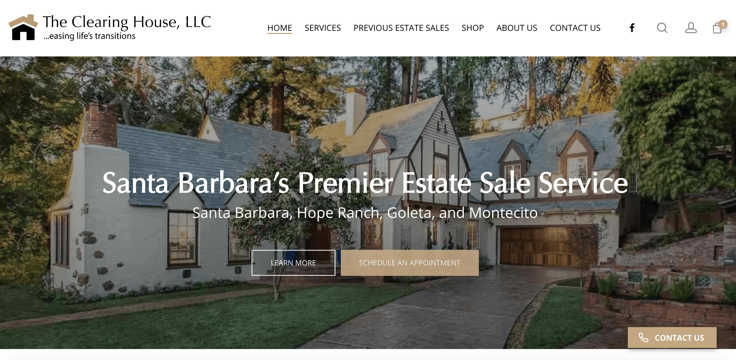 Santa Barbara Web Design and Web Development - Clearing House SB